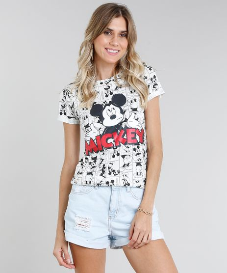 Blusa-Feminina-Mickey-Estampada-Manga-Curta-Decote-Redondo-Off-White-9460038-Off_White_1