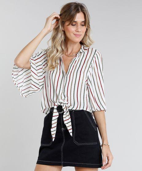 Camisa-Feminina-Cropped-Ampla-Listrada-com-No-Manga-Curta-Off-White-9372109-Off_White_1