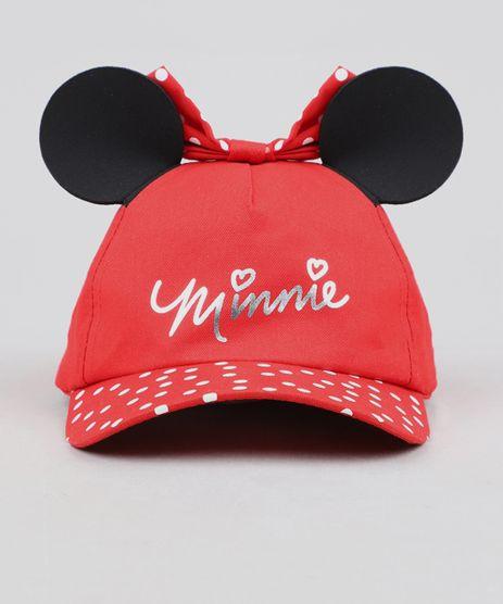 Bone-Infantil-Aba-Curva-Minnie-com-Orelhas-e-Laco-Vermelho-9441406-Vermelho_1