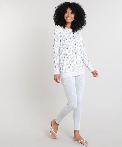 Pijama-Feminino-Estampado-de-Coala-Manga-Longa-Off-White-9415995-Off_White_1