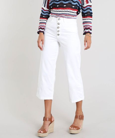Calca-Feminina-Pantacourt-com-Botoes-Off-White-9463448-Off_White_1