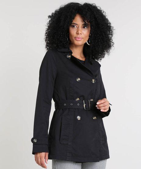 Casaco-Trench-Coat-Feminino-com-Bolsos-Preto-9356536-Preto_1