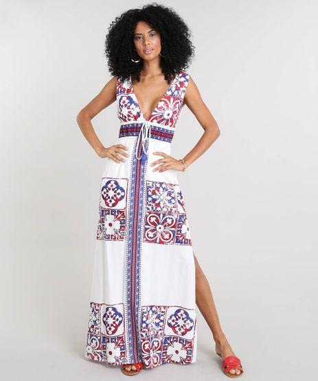 Vestido-Feminino-Longo-com-Estampa-de-Azulejo-e-Tassel-Alca-Larga-Off-White-9368697-Off_White_1