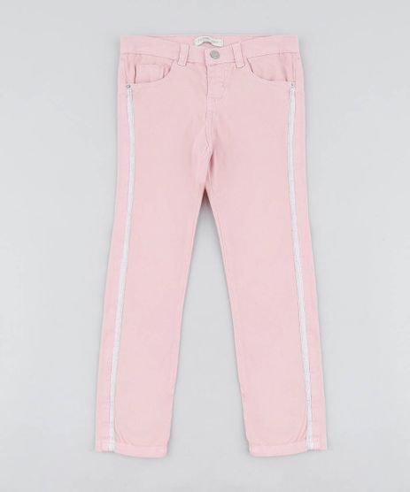 Calca-Color-Infantil-com-Faixa-Lateral-Rosa-Claro-9416216-Rosa_Claro_1