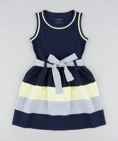 Vestido-Infantil-com-Recortes-e-Laco-Azul-Marinho-9420458-Azul_Marinho_1