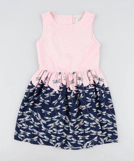 Vestido-Infantil-Estampado-de-Libelulas-com-Coracao-Vazado-Rosa-Claro-9418655-Rosa_Claro_1