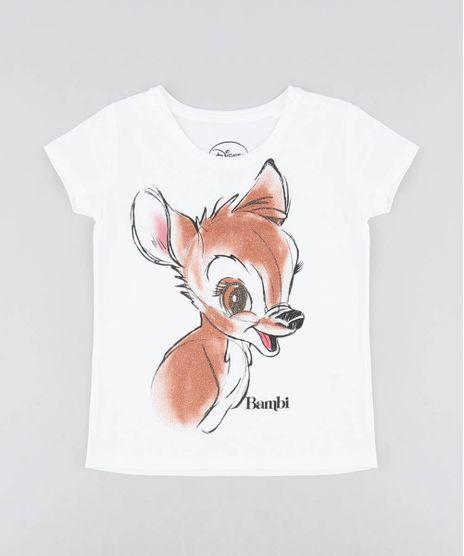 Blusa-Infantil-Bambi-com-Glitter-Manga-Curta-Decote-Redondo-Off-White-9504280-Off_White_1