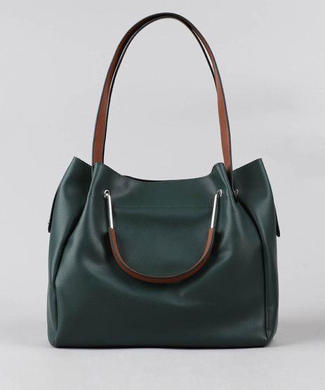 Bolsa-de-Ombro-Feminina-Grande-Verde-9387653-Verde_1