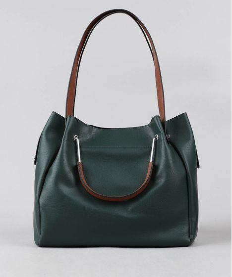 e63e2a3dd Bolsa-de-Ombro-Feminina-Grande-Verde-9387653-Verde_1 ...