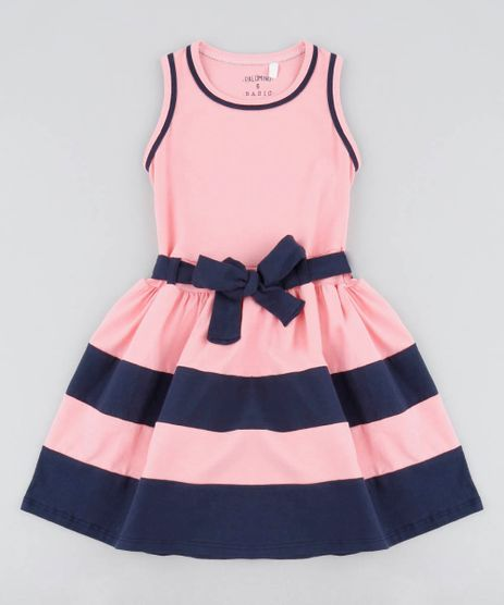 Vestido-Infantil-com-Recortes-e-Laco-Rosa-9420457-Rosa_1