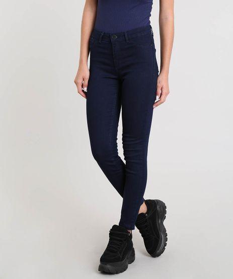 Calca-Jeans-Feminina-Cigarrete-Azul-Escuro-9504585-Azul_Escuro_1