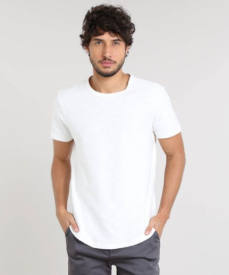 Camiseta-Masculina-Slim-Fit-Flame-Manga-Curta-Gola-Careca-Off-White-9480139-Off_White_1