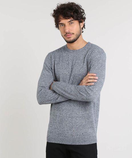 Sueter-Masculino-Basico-em-Trico-Azul-Marinho-9364114-Azul_Marinho_1