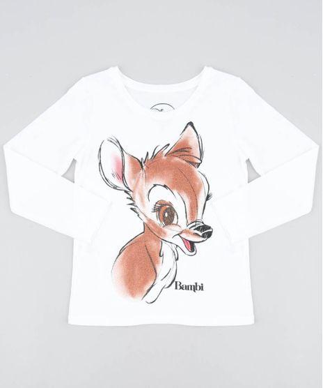 Blusa-Infantil-Bambi-com-Glitter-Manga-Longa-Decote-Redondo-Off-White-9504281-Off_White_1