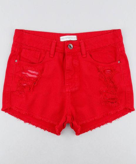 Short-Color-Infantil-Destroyed-com-Barra-Desfiada-Vermelho-9214766-Vermelho_1