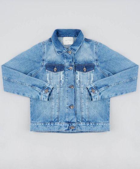 Jaqueta-Jeans-Infantil-com-Puidos-Azul-Medio-9413172-Azul_Medio_1