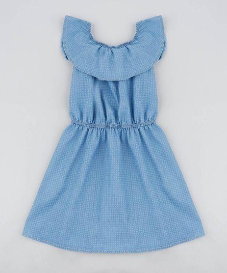 Vestido-Jeans-Infantil-Ciganinha-Estampado-Mini-Print-Azul-Medio-9416231-Azul_Medio_1