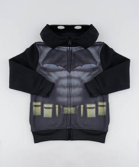 Blusao-Infantil-Batman-em-Moletom-com-Capuz-Preta-9337961-Preto_1