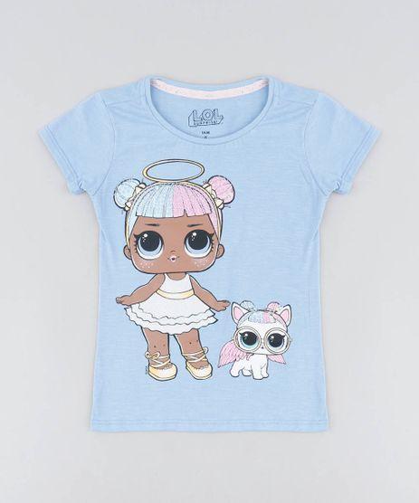 Blusa-Infantil-LOL-Surprise-com-Paete-Manga-Curta-Decote-Redondo-Lilas-9468819-Lilas_1