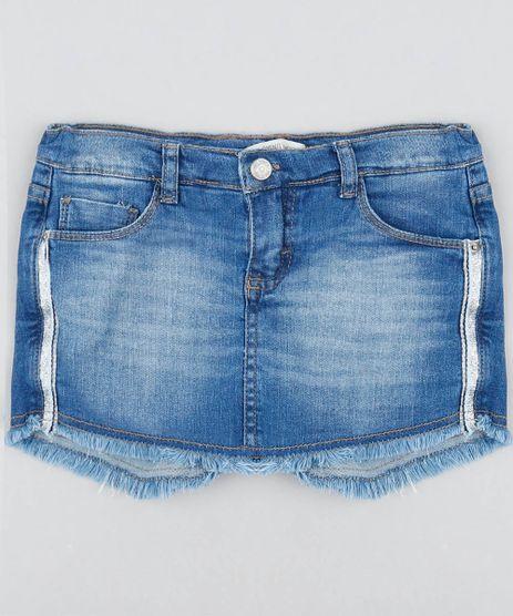 Short-Saia-Jeans-Infantil-com-Faixa-Lateral-Barra-Desfiada-Azul-Medio-9416227-Azul_Medio_1