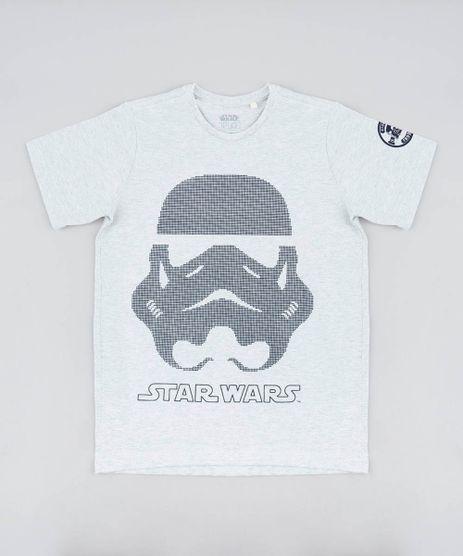 Camiseta-Infantil-Stormtrooper-Star-Wars-Gola-Careca-Manga-Curta-Cinza-Mescla-Claro-9442311-Cinza_Mescla_Claro_1