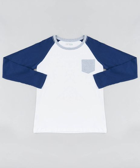 Camiseta-Infantil-Raglan-Com-Bolso-Gola-Careca-Manga-Longa-Branca-9464362-Branco_1