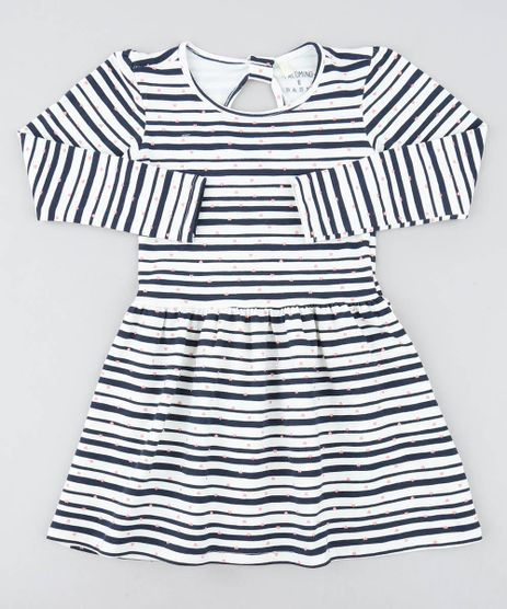 Vestido-Infantil-Listrado-com-Coracoes-Manga-Longa-Off-White-9426374-Off_White_1