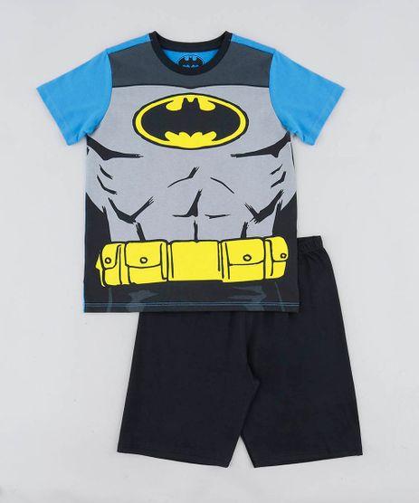 Pijama-Infantil-Batman-Manga-Curta-Azul-9476323-Azul_1