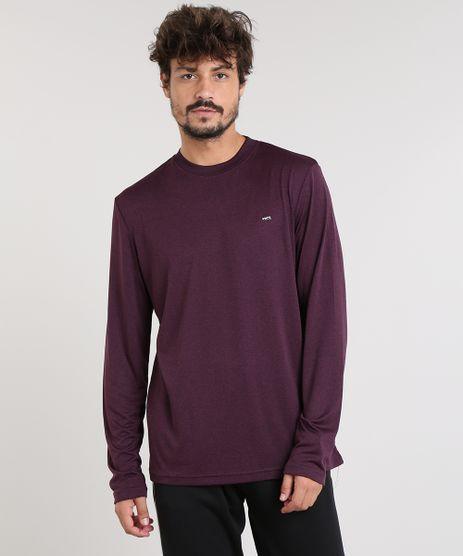 Camiseta-Masculina-Esportiva-Ace-Basica-Mescla-Manga-Longa-Gola-Careca-Vinho-9345396-Vinho_1