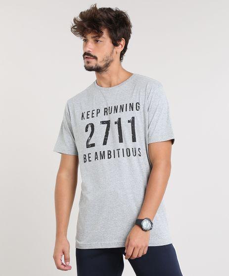 Camiseta-Masculina-Esportiva-Ace--Keep-Running--Manga-Curta-Gola-Careca-Cinza-Mescla-9412029-Cinza_Mescla_1