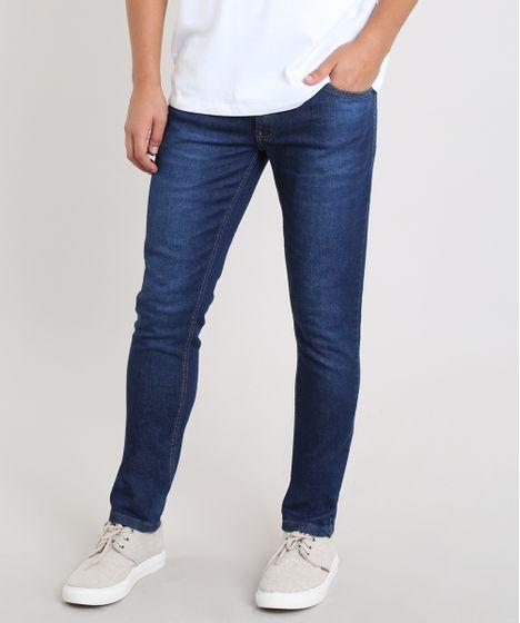 0c05e0cf75 Calca-Jeans-Masculina-Slim-Azul-Escuro-9503752-Azul Escuro 1 ...