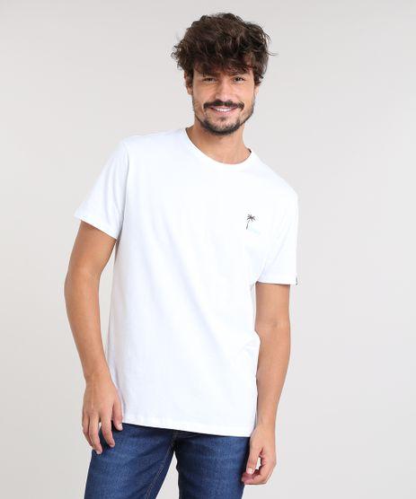 Camiseta-Masculina-com-Estampa-Tropical-Manga-Curta-Gola-Careca-Branca-9448988-Branco_1