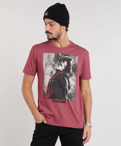 Camiseta-Masculina-Thor-Manga-Curta-Gola-Careca-Vinho-9419272-Vinho_1