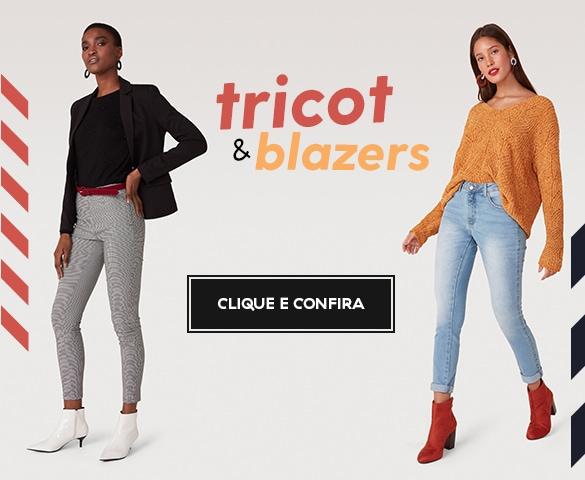 Banner carrossel - Tricot e blazers
