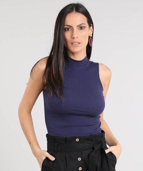 Regata-Feminina-Cropped-Gola-Alta-Basica-Canelada-Azul-Marinho-8449098-Azul_Marinho_1