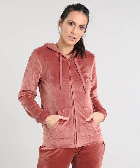 Blusao-Feminino-Esportivo-Ace-em-Plush-com-Capuz-Marrom-Claro-9348613-Marrom_Claro_1