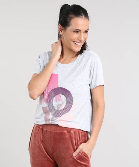 Blusa-Feminina-Esportiva-Ace--Move--Manga-Curta-Decote-Redondo-Cinza-Mescla-9400449-Cinza_Mescla_1