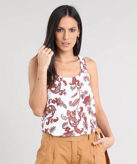 Regata-Feminina-Ampla-Estampada-Paisley-Decote-Redondo-Branca-9427486-Branco_1