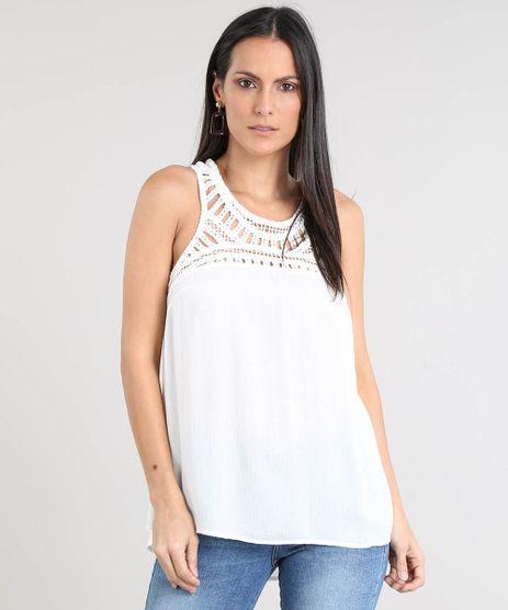 Regata-Feminina-Ampla-com-Macrame-Decote-Redondo-Off-White-9391889-Off_White_1