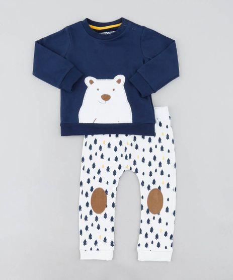 Conjunto-Infantil-Urso-de-Blusao-Azul-Marinho---Calca-Estampada-em-Moletom-Off-White-9205092-Off_White_1