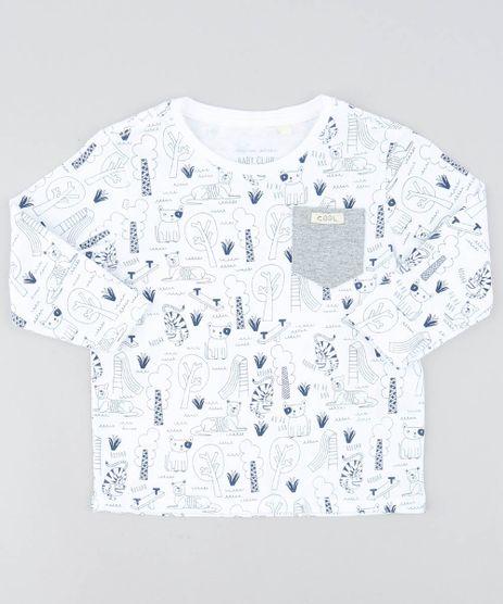 Camiseta-Infantil-Estampada-de-Animais-Manga-Longa-Gola-Careca-Branca-9449992-Branco_1
