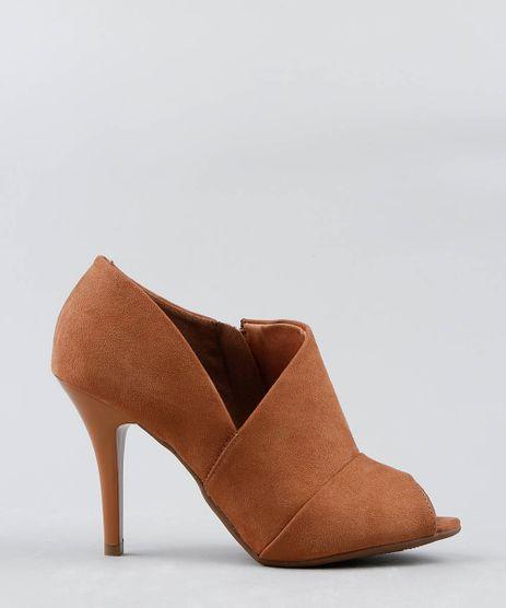 Bota-Open-Boot-Feminina-Vizzano-Salto-Alto-em-Suede--Caramelo-9521743-Caramelo_1