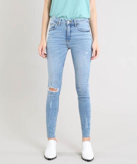 Calca-Jeans-Feminina-Mindset-Skinny-com-Rasgo-Azul-Claro-9563345-Azul_Claro_1