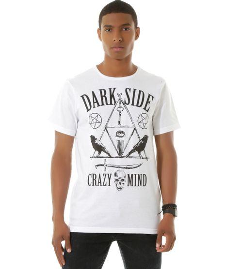 e64a7a9587 Camiseta--Dark-Side--Branca-8449659-Branco 1