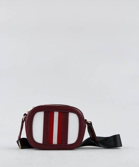 Bolsa-Feminina-Transversal-Pequena-com-Faixas-Vinho-9381304-Vinho_1