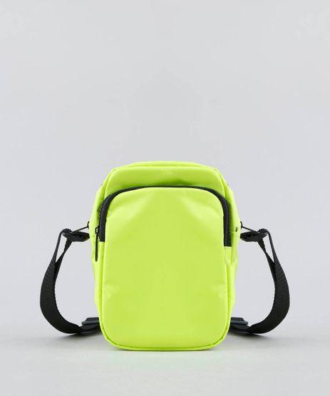 5756e4a805 Bolsa-Feminina-Transversal-Pequena-com-Bolso-Amarela-Neon-