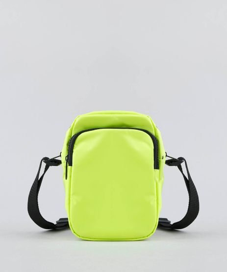 2270d8d2d Bolsa-Feminina-Transversal-Pequena-com-Bolso-Amarela-Neon-