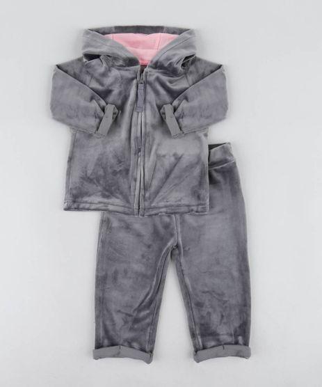 Conjunto-Infantil-Gatinha-de-Blusao-com-Capuz---Calca-em-Plush-Chumbo-9200185-Chumbo_1