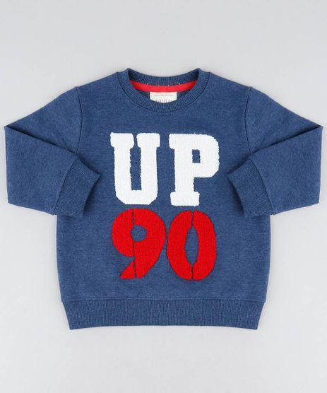 Blusao-Infantil--Up-90--em-Moletom-Gola-Careca-Azul-Marinho-9370137-Azul_Marinho_1