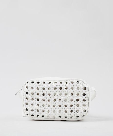 Bolsa-Feminina-Transversal-Pequena-em-Tresse-Branca-9360381-Branco_1